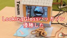 第1回LookingGlassハッカソン参加・優勝
