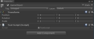Unityでスクリプトのチェックボックス表示されない